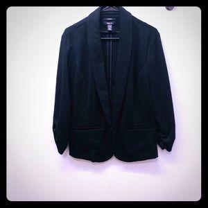 Style & Co black blazer L